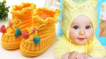 Bebek patiği nasıl örülür? Bebek patiği baştan sona yapımı