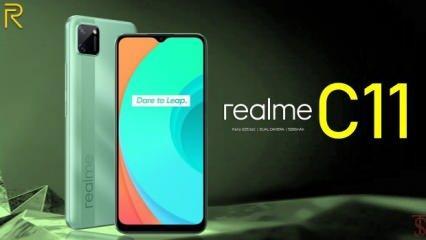 Dev bataryalı Realme C11 Türkiye'de satışa sunuldu