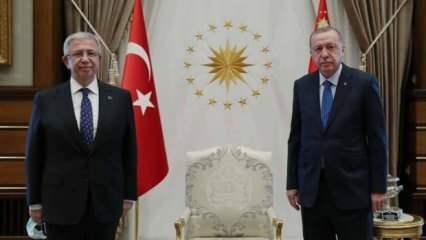 Erdoğan ve Mansur Yavaş ne konuştu?