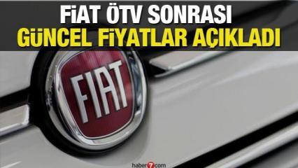 Fiat ÖTV sonrası 2 Eylülde fiyatları yeniden güncelledi! İşte yeni Egea Doblo 500 fiyatları