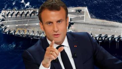 Fransa, en büyük silahını Türkiye'ye karşı Doğu Akdeniz'e gönderiyor