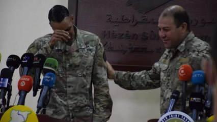 ABD'li komutanın görevi sona erdi, artık PKK'ya destek çıkamayacağı için ağladı