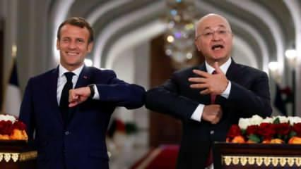 Macron'un Kuzey Irak oyunu: Bağdat'a Türkiye'ye karşı durma mesajı
