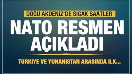 NATO resmen açıkladı! Türkiye ve Yunanistan arasında ilk...