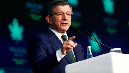 Ahmet Davutoğlu'ndan Doğu Akdeniz açıklaması! İngilizlere Erdoğan'ı eleştirdi