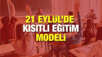 Okullar 21 Eylül'de açılacak mı? Sağlık Bakanı açıkladı: Okullarda kısıtlı eğitim verilecek!