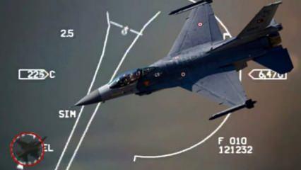 Doğu Akdeniz'deki it dalaşında Yunan jetlerini kadın pilotlarımız kovalamış