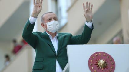 Son dakika: Erdoğan 'Müjdeler vereceğim' diyerek duyurdu