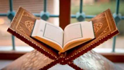Tekasür suresi fazileti ve sırları! Tekasür suresi Arapça ve Türkçe okunuşu