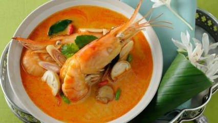 En kolay Tom Yum Goong çorbası nasıl yapılır? Masterchef Tom Yum Goong tarifi