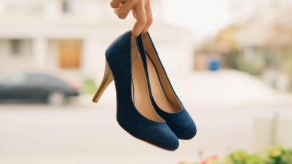 Topuklu ayakkabı giyen kadının yaşadığı kaza başına olmadık işler açtı