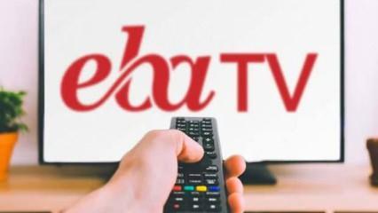 TRT EBA TV canlı yayın 4 Eylül 2020: EBA TV frekans ayarı ders canlı izle!
