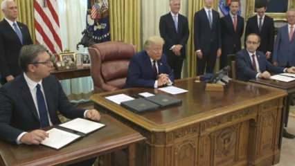 Trump duyurdu! 2 ülke daha İsrail için sıraya girdi