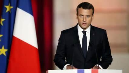Fransa zor durumda! IMF açık açık uyardı Macron tutuştu