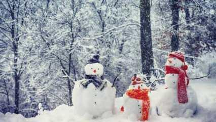 Rüyada kar görmek neye işarettir? Rüyada mevsimsiz kar görmek ne demek?