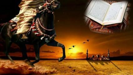 Savaşta galibiyet için en güçlü dua! Savaşan askere okunan Fetih suresi okunuşu ve fazileti