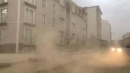Ankara'dan sonra bir ile daha kum fırtınası uyarısı!