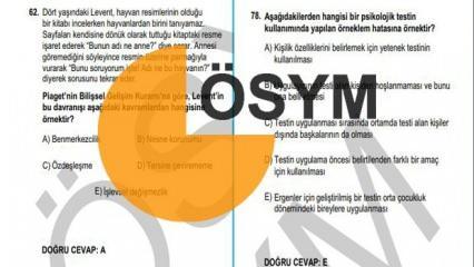 KPSS lisans soru kitapçığı yayınlandı mı? ÖSYM açıkladı: KPSS lisans sınavı soru ve cevapları..
