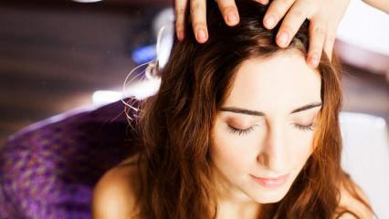 Saç masajı nedir ve saç masajı ne işe yarar? Saça masaj yapmanın püf noktaları