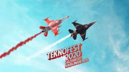 Teknofest'te heyecan fırtınası
