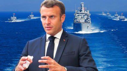 Macron'dan Doğu Akdeniz açıklaması! 'Erdoğan' sözlerine Türkiye'den jet tepki