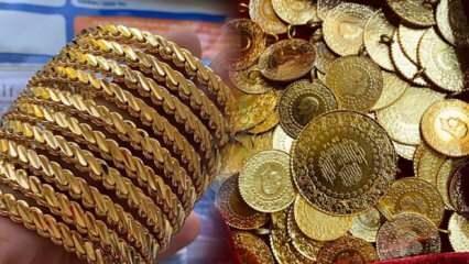 18 Eylül Altın fiyatı yükselişe geçti! Çeyrek Altın Gram Altın alış bilezik satış fiyatı