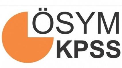 KPSS soru ve cevapları yayımlandı! Lisans alan bilgisi soru kitapçıkları ve cevap anahtarı