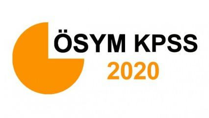 2020 KPSS ortaöğretim başvuru ücreti: ÖSYM AİS KPSS lise başvurusu nasıl yapılır?