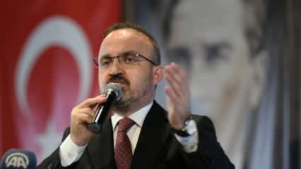 Bülent Turan: Macron'a Türkçe tweet attıran adamın adı Recep Tayyip Erdoğan'dır