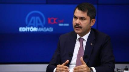 Bakan Kurum'dan Elazığ ve Malatya depremi açıklaması!