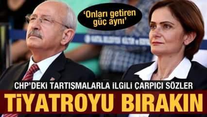 Canan'ı hangi güç getirdiyse Kılıçdaroğlu'nu da o getirdi. Atatürk'ü CHP eliyle bitirecekler!