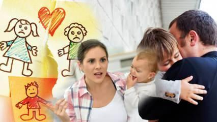 Çocuğa boşanma nasıl anlatılmalı, kim söylemeli? Boşanmanın çocuktaki psikolojik etkisi