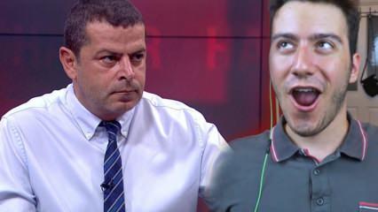Cüneyt Özdemir KYK yurdunu beğenmeyen Enes Batur'u Ti'ye aldı!
