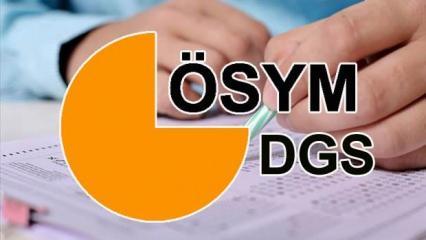 DGS tercihleri ne zaman yapılacak? ÖSYM DGS 2020 tercih kılavuzu yayımlandı mı?