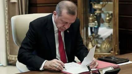 Erdoğan imzaladı, Resmi Gazete'de yayımlandı: Kritik mevkilere önemli atamalar