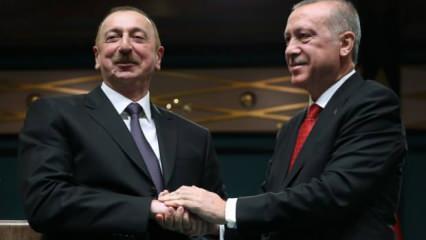 Erdoğan ve Aliyev arasında önemli görüşme