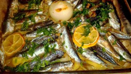 Sardalya balığı nasıl pişirilir? En kolay sardalya balığı tarifi