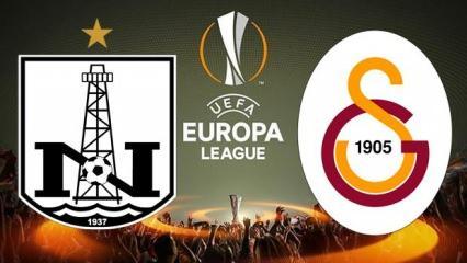 Neftçi Bakü Galatasaray maçını veren yabancı kanallar! Galatasaray UEFA maçı canlı seyret!