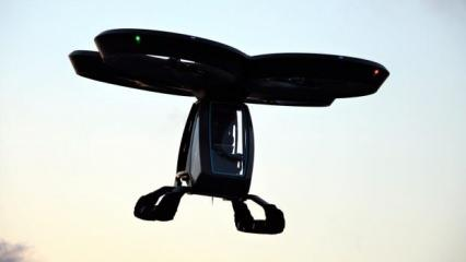 Türkiye'nin ilk uçan arabası Cezeri dünyada manşet oldu: Gelecek burada