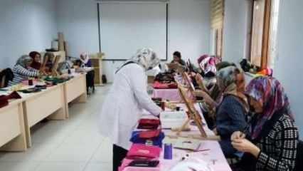 Kahramanmaraşlı kadınların el işi ürünleri Orta Doğu pazarında ilgi görüyor!