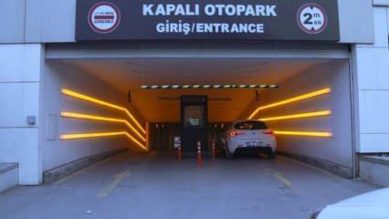 LPG'li araçlar kapalı AVM otoparkına girebilecek mi?