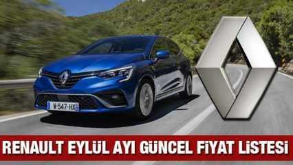 Renault 2020 model sıfır yeni araç fiyatı açıkladı! İşte Kadjar Clio Megane fiyat listesi