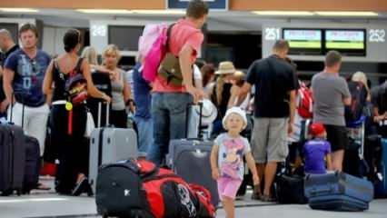 İngiliz turistler Türkiye'yi tercih ediyor