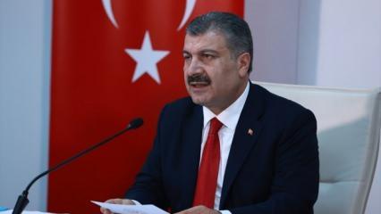 Sağlık Bakanı Fahrettin Koca: Türkiye genelinde yatak doluluk oranı %48.5
