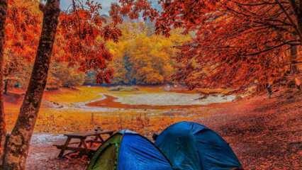 Sonbahar mevsiminde gidilecek en güzel kamp rotaları
