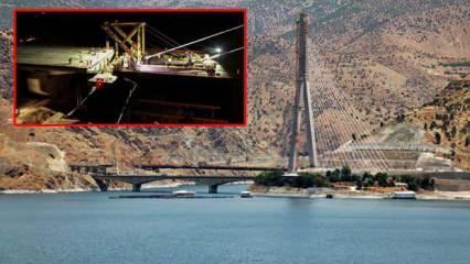 16 ili birbirine bağlayan Yeni Kömürhan Köprüsü tamamlandı