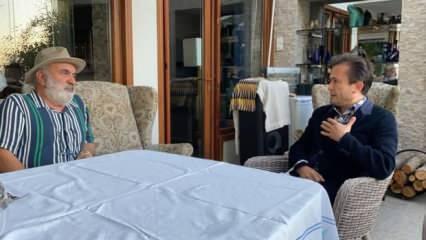 Tuzla Belediye Başkanı Yazıcı, darp edilen Hüseyin Meriç'i ziyaret etti