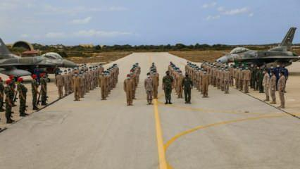 Yunanistan ve BAE, Girit Adası'ndaki F-16'larla Türkiye'ye mesaj vermeye kalktı