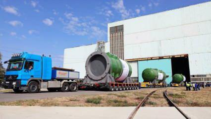Akkuyu NGS reaktör basınç kabını Türkiye'ye gönderdi