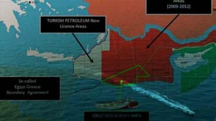 ABD, Doğu Akdeniz'de tarafını seçti: Sevilla haritası hukuki değil